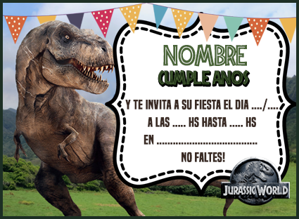 Kit Imprimible Candy Bar De Jurassic World Para Cumpleanos Candy