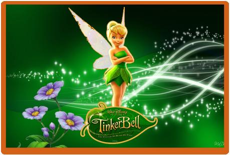 Tita candy bar Tinkerbell kit imprimible