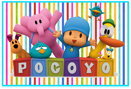 Tita candy bar pocoyo kit imprimible
