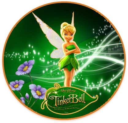 alfajores3 candy bar Tinkerbell kit imprimible
