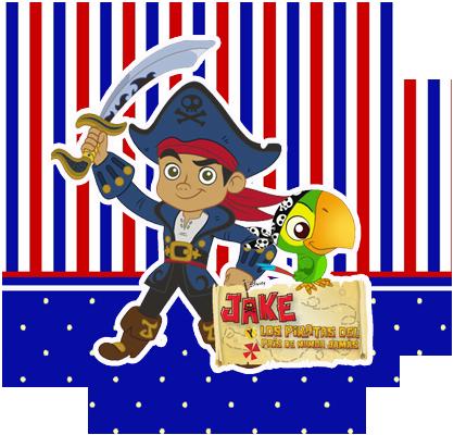 alfajores3 candy bar jack el pirata kit imprimible