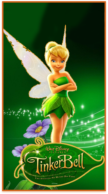 clubsocial candy bar Tinkerbell kit imprimible