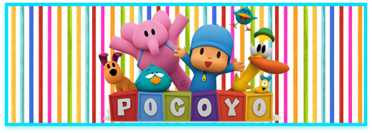 miniroklets candy bar pocoyo kit imprimible