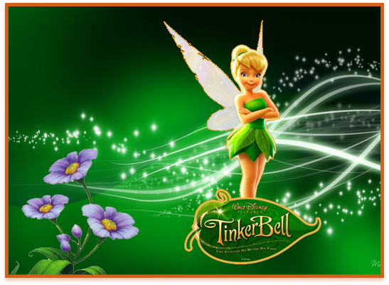 opera candy bar Tinkerbell kit imprimible