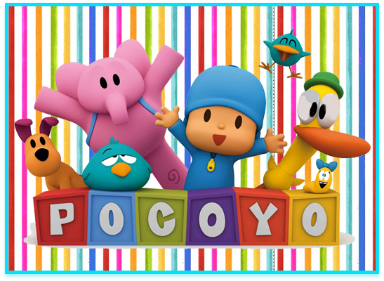 opera candy bar pocoyo kit imprimible