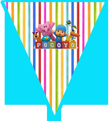 paraguita candy bar pocoyo kit imprimible