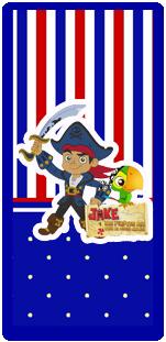 pico dulce candy bar jack el pirata kit imprimible