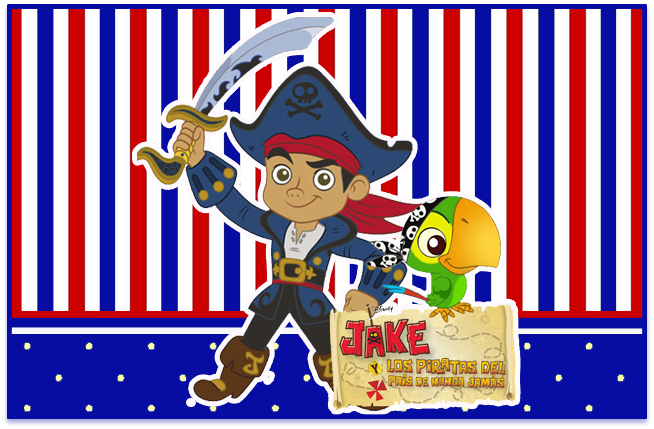 sugus confitados candy bar jack el pirata kit imprimible