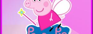 Kit imprimible candy bar Peppa Pig Princesa para cumpleaños