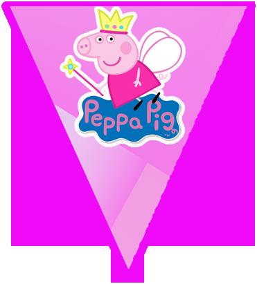 paraguita candy bar peppa princesa kit imprimible