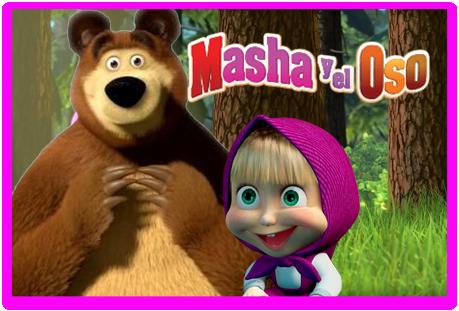 Tita candy masha y el oso kit imprimible