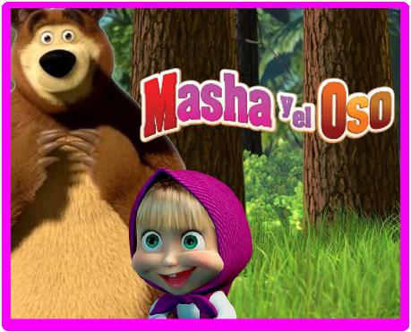 alfajores candy masha y el oso kit imprimible