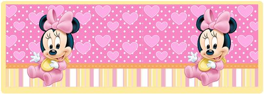 miniroklets candy bar minnie bebe kit imprimible
