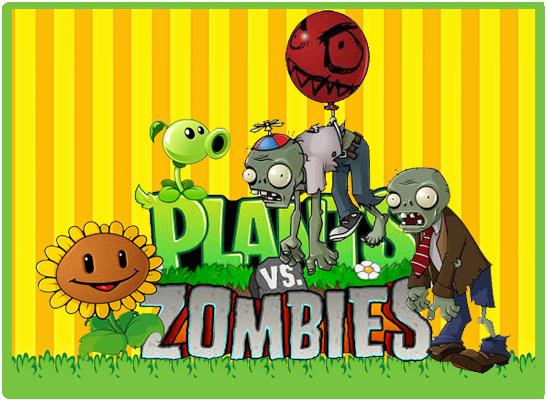 Kit imprimible candy bar Plantas vs Zombies para ...