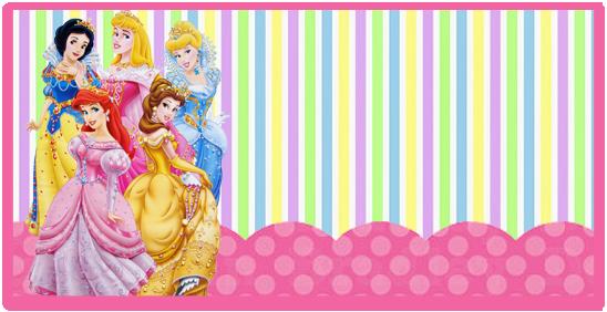 rhodesia candy bar princesas disney kit imprimible