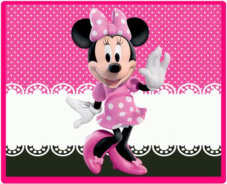 alfajores candy bar minnie rosa kit imprimible
