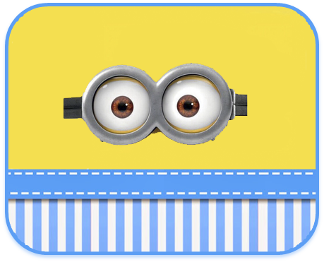 alfajores2 candy bar minions ojitos kit imprimible