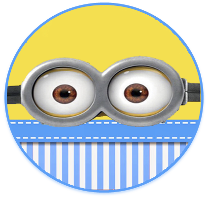 alfajores3 candy bar minions ojitos kit imprimible