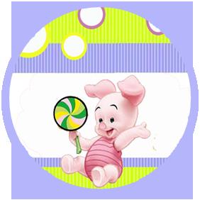 bonobon candy bar piglet kit imprimible