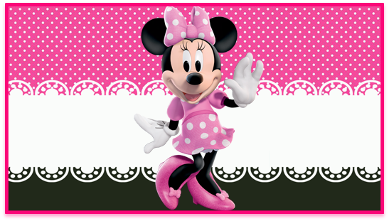 chocolate2 candy bar minnie rosa kit imprimible