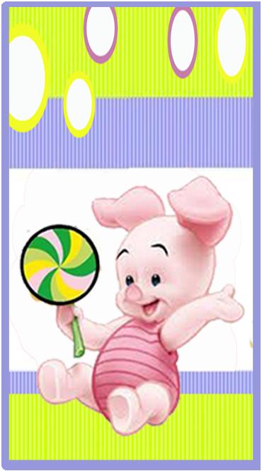 clubsocial candy bar piglet kit imprimible
