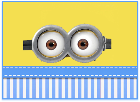 opera candy bar minions ojitos kit imprimible