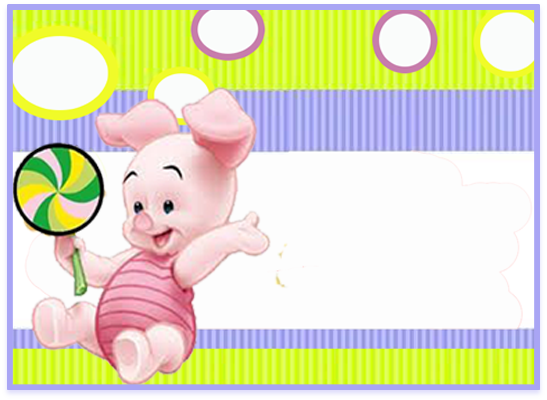 opera candy bar piglet kit imprimible