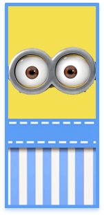 picodulce candy bar minions ojitos kit imprimible