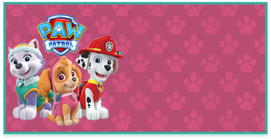 rhodesia -candy bar paw patrol nena kit imprimible
