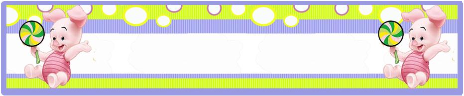 turron de mani candy bar piglet kit imprimible