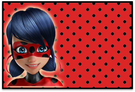 Titacandy-bar LADYBUG kit-imprimible