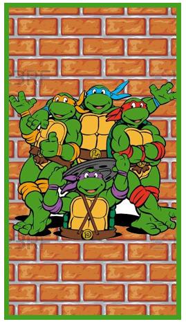 baggio mini candy-bar tortugas ninjas kit-imprimible