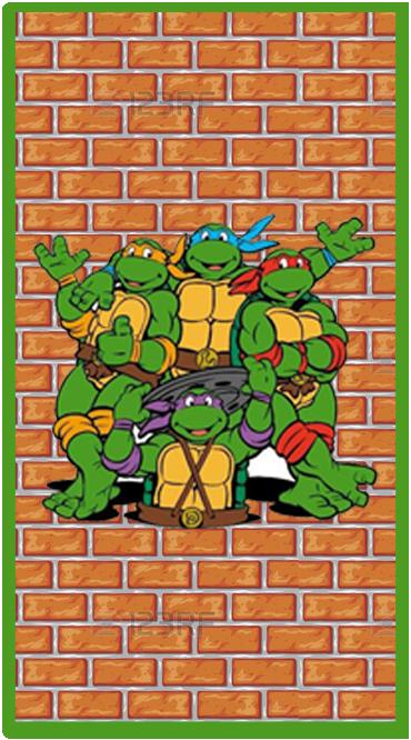clubsocial candy-bar tortugas ninjas kit-imprimible