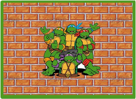 opera candy-bar tortugas ninjas kit-imprimible