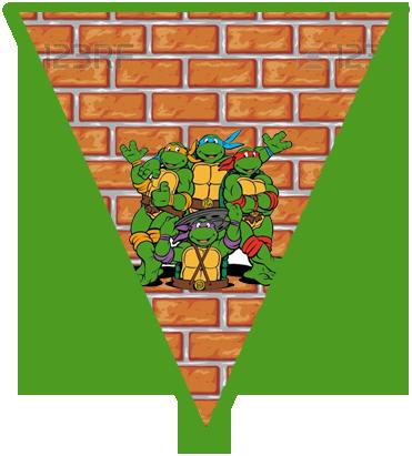 paraguita candy-bar tortugas ninjas kit-imprimible