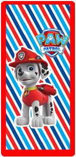 picodulce candy bar marshal paw patrol kit imprimible