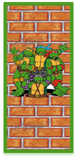 picodulce candy-bar tortugas ninjas kit-imprimible