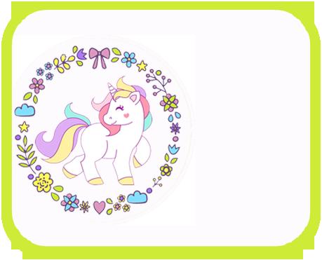 alfajores2-candy bar unicornio kit imprimible
