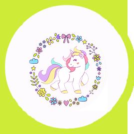 bonobon -candy bar unicornio kit imprimible