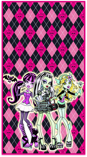 clubsocial -candy bar rmonster high kit imprimible
