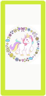 picodulce-candy bar unicornio kit imprimible