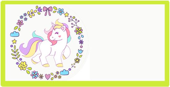 rhodesia-candy bar unicornio kit imprimible