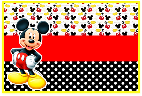 Tita -candy bar-mickey mouse kit imprimible