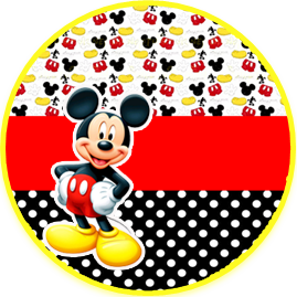 bonobon -candy bar-mickey mouse kit imprimible