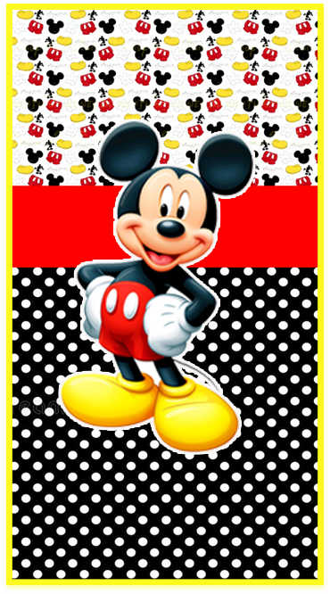 clubsocial -candy bar-mickey mouse kit imprimible