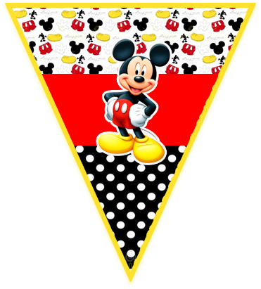 paraguita -candy bar-mickey mouse kit imprimible