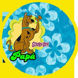 bonobon candy bar SCOOBY DOO kit imprimible