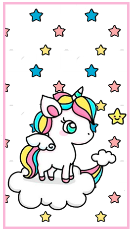 baggio mini candy bar unicornio en nube kit imprimible