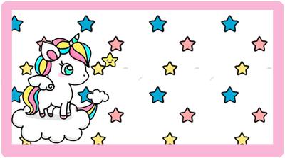 chocolatearcor candy bar unicornio en nube kit imprimible