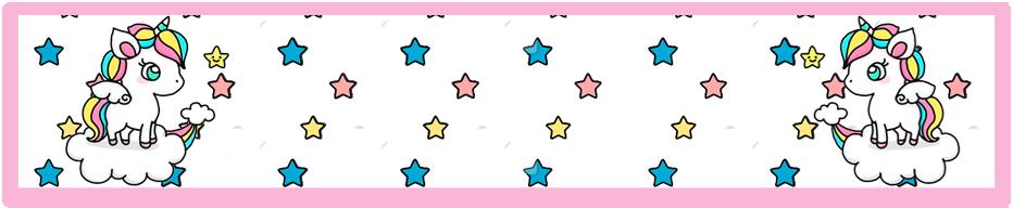 turron de mani candy bar unicornio en nube kit imprimible